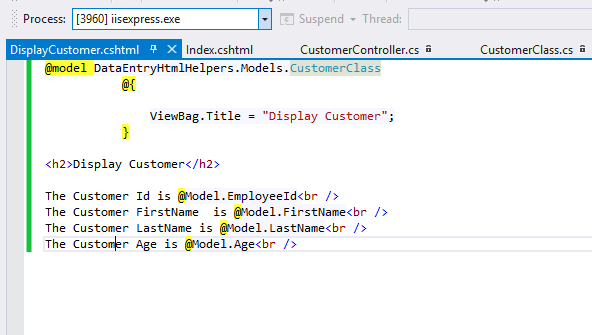 how to create master detail entry form in asp.net mvc4